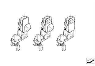 Switch adjuster steering column