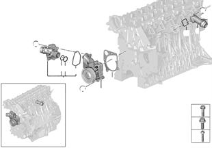 Sistema di raffreddamento-pompa d. acqua