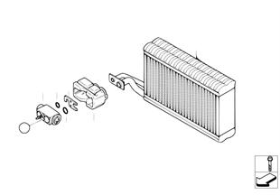 Evaporatore / Valvola di espansione