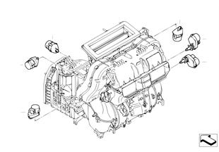 Motorino climatizzazione aut. Basis
