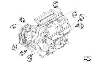 Motorino climatizzazione aut. High