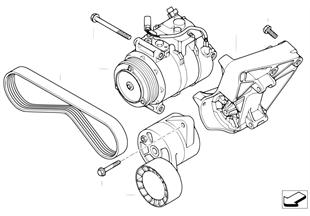 空調壓縮機 安裝件/皮帶傳動