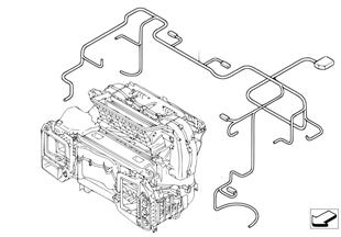 Cablaggio climatizzazione automatica