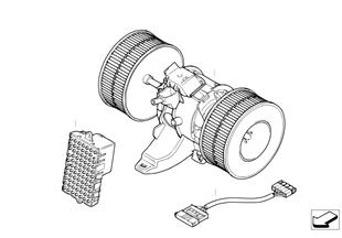 Ventilatore / pezzi montabili