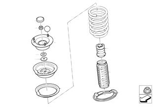 Pièces de palier/semelle de ressort