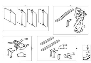 組件 小零件 自動空調殼體