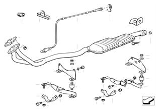 Catalizador/sonda lambda
