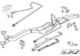 廢氣觸媒轉換器/氧傳感器
