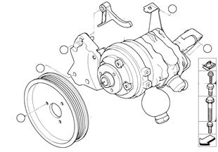 轉向輔助泵/動態行駛穩定裝置