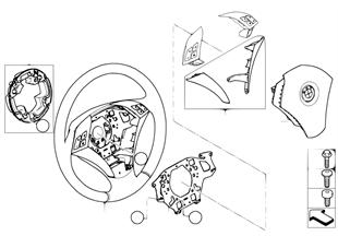 方嚮盤 小型安全氣囊 多功能