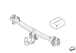 Retrofit kit, towing hitch