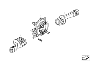 Steering-column stalk