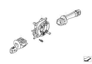 Steering-column stalk