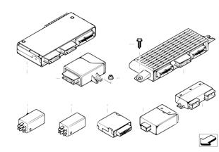 ЭБУ и модули кузова