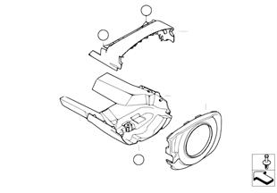Steering column trim, basic