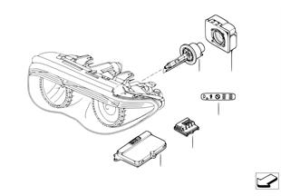 Scheinwerfer Elektronikteile Xenonlicht