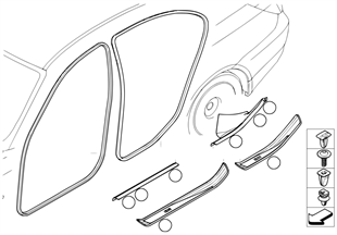 Защитная окантовка/накладка порога