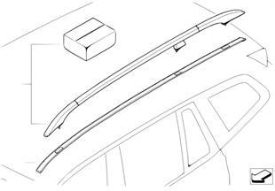 Retrofit kit, roof railing