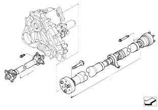 Arbol de transmisión, 4 ruedas