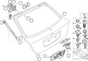 トランク リッド/ロック システム