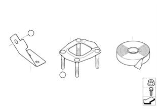 와이어링하니스 고정용 부품, 변속기 DXC