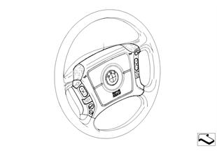Retrofit kit, multifunct. steering wheel