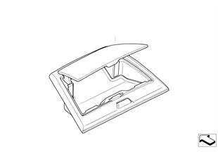 Retrofit f oddments tray instr. panel