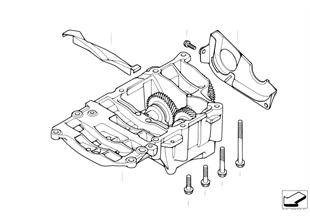 クランクシャフト ドライブ-マス バランス