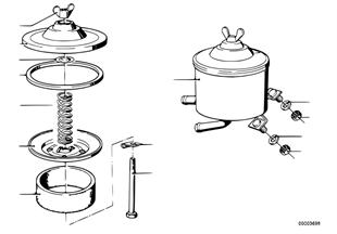 Zbiornik oleju/elementy pojedyncze