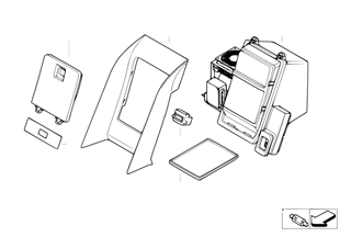 Housing parts, coolbox