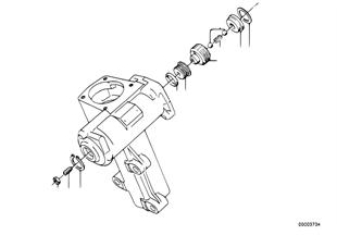 Hydrolenkgetriebe Einzelteile