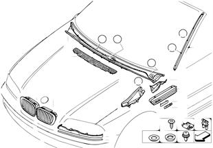 Zewnętrzne osłony / Kratka ozdobna