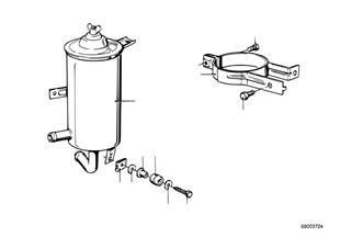 Ölbehälter / Einzelteile