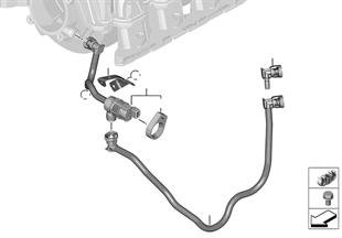 Válvula de respiro do depósito