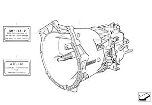 Caixa de velocidades manual S5D...Z