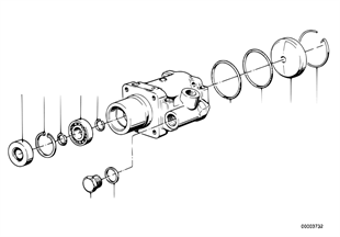 Hydrolenkung-Flügelpumpe/Einzelteile