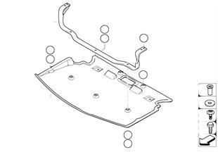 Protezione d parti inf., anteriore