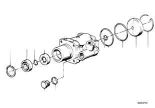 Hydro steering-vane pump/single parts