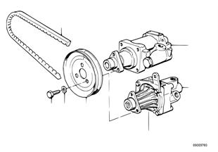 Hydro steering-vane pump
