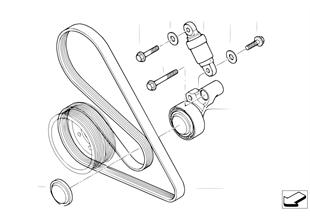 벨트,물펌프/발전기용