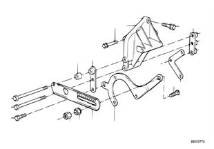 Hidrolik direksiyon-Pompa/Yatak mesnedi