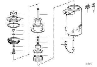 Ölbehälter ASC+T/Einzelteile