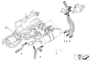 GS6S37BZ(sekv.převod.) hydraul. vedení