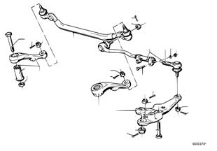 Lenkgestänge/Spurstangen