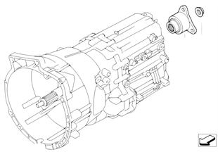 GS6-53BZ/DZ Tahrik- / Tahrik çıkış mili