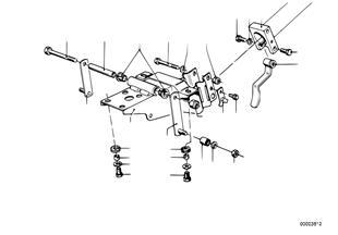 Lenksäule-Lagerbock/Einzelteile