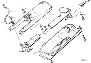 Lenksäule Verkleidung/Anbauteile
