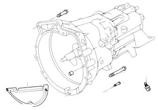 Převodovka uchycení/montážní díly