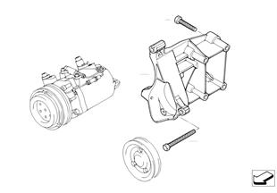 軸承座 空調壓縮機
