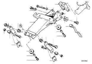 調整式ステアリング コラム/個別部品